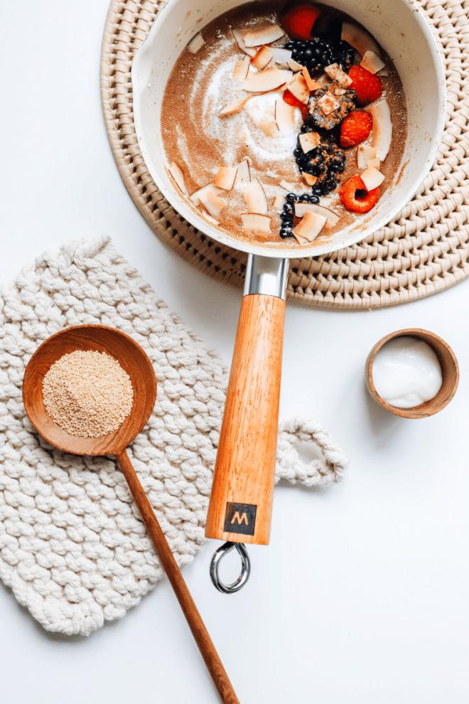 Amaranth & Coconut Porridge