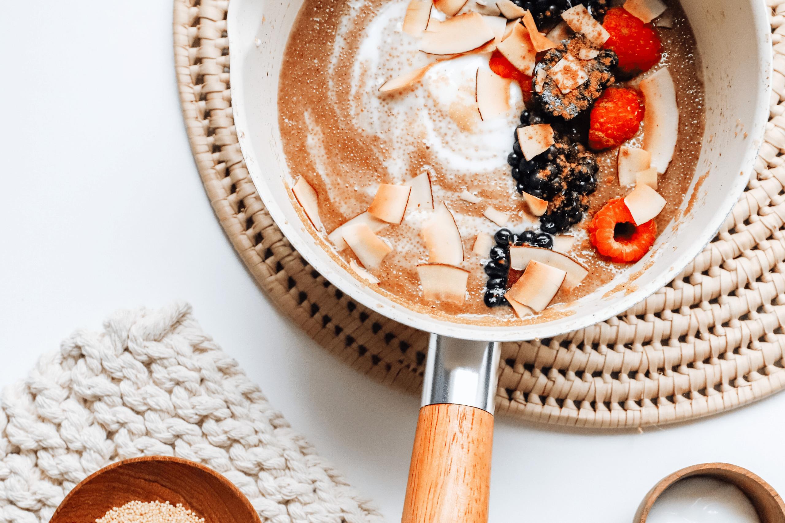 amaranth coconut porridge